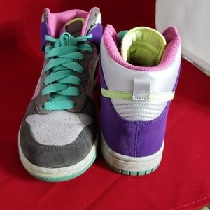 release date 36d0b d3c9d Nike Shoes - Nike Dunk High 6.0 Womens Multicolor Sneakers